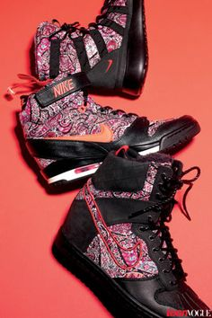 Bring Your A-Game in Nike's Liberty London Sneaker Boots: http://teenv.ge/1fACuTr