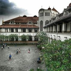 One fine afternoon in Lawang Sewu