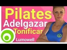 Pilates exercises lo lose weight and tone your body at home without weights. Try this Pilates workout daily for a month to get the best results. Pilates Training, Cardio Pilates, Pilates Video, Yoga Fitness, Health Fitness, Yoga Supplies, Yoga At Home, Aerobics, Way Of Life