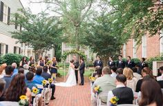 Fort Conde Inn Wedding Mobile Alabama