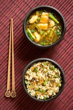 chilli paneer with veg fried rice