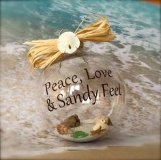 Peace, Love & Sandy Feet <3