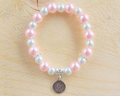 "Glasparel armband bracelet ""Lovely Queen"" van Hugs&Kisses op DaWanda.com glass beads pearls charm parels"