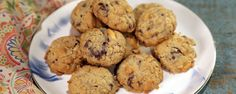 Spicy Peanut Chocolate Chip Oatmeal Cookies by Clinton Kelly The Chew Recipes, Baking Recipes, Cookie Recipes, Dessert Recipes, Oatmeal Chocolate Chip Cookie Recipe, Oatmeal Cookies, Cookie Time, Food Network Recipes, The Best