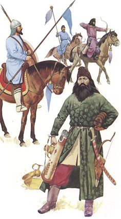 Pechenegs a.k.a. Scythians fought by Alexios Komnenos in winter 1091