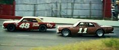 Darrell Waltrip and Jack Ingram 64 Chevelle LMS