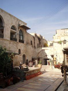 Un Khan d'Alep