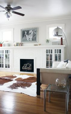 [Drew & Annie's Calm & Collected Home /// Image credit: Carolyn Purnell /// via Apartment Therapy]