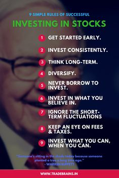 9 Simple Yet Powerful Rules of Successful investing -- Most people who are new to the stock market believes that there is some hidden formula for successful investing that people from a business background or those having an educational qualification in f Stock Market Investing, Investing In Stocks, Investing Money, Silver Investing, Investment Quotes, Investment Tips, Investment Companies, Financial Quotes, Financial Tips