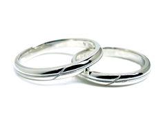AMBRACE PT900 platinum ring stylish round cross line 2.8mm プラチナ ペアリング スタイリッシュ ラウンド クロス ライン