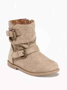 Old Navy buckle boots