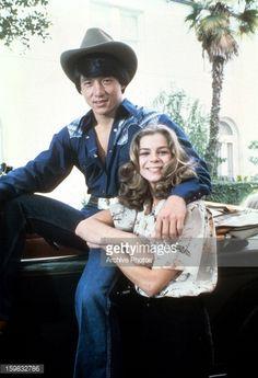 Jackie Chan and Kristine DeBell circa 1975