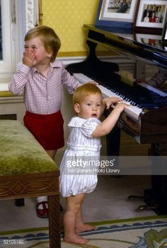 Diana, Princess of Wales carries her son, Prince Harry, off a flight... News Photo | Getty Images