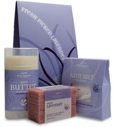 Rocky Mountain Soap Year Round Gift Sets