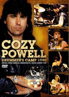 Cozy Powell - Drummer's Camp 1990