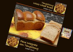 Sweet and That's it: Tangzhong Whole Wheat Bread - Pane Integrale con Tangzhong Yeast Bread, Bread Baking, Water Roux, Whole Wheat Bread, Banana Bread, Breads, Yummy Food, Sweet, Desserts