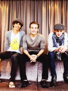 Robbie Sheehan, Kevin Zegers, & Jamie Campbell Bower.