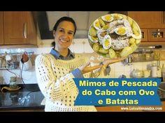 Mimos de Pescada do Cabo com Ovo e Batatas • www.luisaalexandra.com - YouTube Actifry, Cabo, Tupperware, Cereal, Breakfast, Ethnic Recipes, Blog, Youtube, Pasta