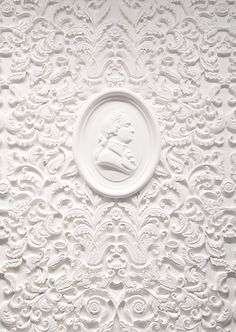 ❖Blanc❖ #White #plaster detail