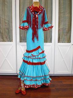 Traje de flamenca  UNIQUE LOOKING