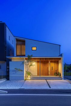 Modern Exterior, Exterior Design, Interior And Exterior, Small Japanese House, Japan Architecture, Minimal Home, Building Design, Deco, House Styles