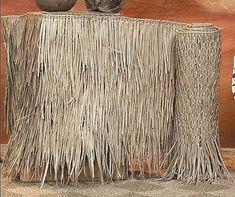 x palm grass tiki thatching roll u0026 panels bamboo fencing