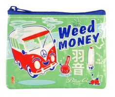This clearly labeled coin purse. | 19 Chill Gifts For The Stoner Type