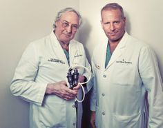 LVADer's should know who these men are!!!  Twin Turbines: Bud Frazier and Billy Cohn kept a man alive for five weeks with their continuous-flow artificial heart.  Jack Thompson No Pulse: How Doctors Reinvented The Human Heart | Popular Science