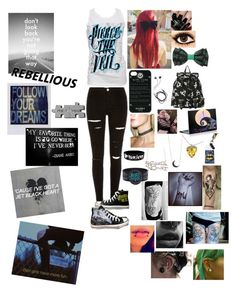 """Somewhere In Neverland-All Time Low"" by leia-albin ❤ liked on Polyvore featuring Converse, Retrò, 3AM Imports, Holga, Diane Von Furstenberg and Nails Inc."