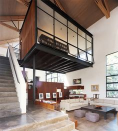 North Haven Residence Lee H Skolnick Architecture Design Partnership Photo Robert Polidori Archinect Industrial House, Industrial Interiors, Vintage Industrial, Urban Loft, Loft Design, Design Design, Modern Design, Design Ideas, Home Design Decor