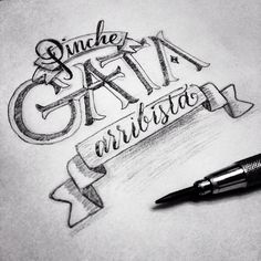 #customletters #typedaily #handlettering #graphite