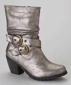Pewter Cowgirl 10 Boot