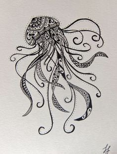 mandala tattoo jellyfish - Google Search
