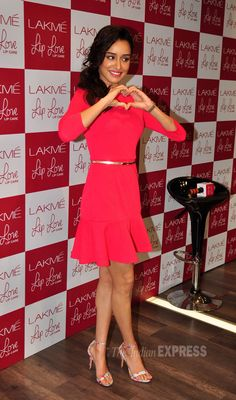 Shraddha Kapoor at a Lakme event.
