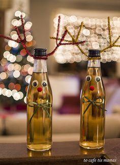 Xmas, Spirit, Bottle, Recipes, Decor, Food, Decoration, Christmas, Flask