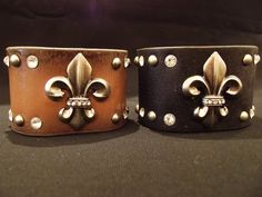 Unisex Genuine Leather Cuffs available @ Allie Cat Boutique in NY! Fun accessory boutique just opened in Newburgh! You have to go take a look! Owner is really nice too! Refreshing! Visit and like their page at https://www.facebook.com/pages/Allie-Cat-Boutique-NY/247005858654483