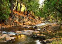 """""""Fall in Lester Park""""<br /> <br /> Amity Creek winds through scenic Lester Park in Duluth."""
