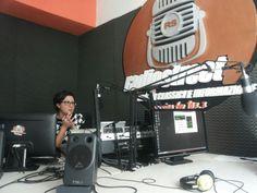 """""""Fino all'ultimo battito di cuore"""" a Radio Street, 2 aprile 2014, con Stefania Arinisi."""