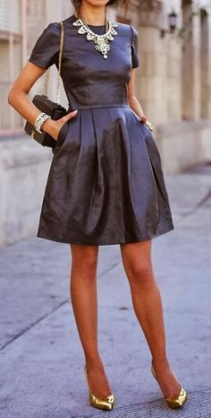 Currently loving the leather trend