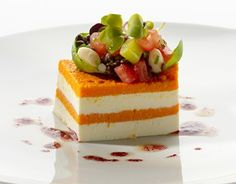 Carrot - cream cheese lasagne. Sounds interesting, but looks amazing.