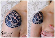 Srdce slovenské ....  #art #tat #tattoo #tattoos #tetovanie #original #tattooart #slovakia #zilina #bodliak #traditional_slovak #bodliaktattoo #bodliak_tattoo #heart_tattoo #heart #slovak_tattoo