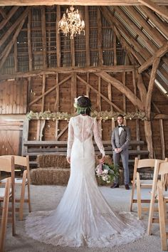 That lace wedding dress! Kerry Ann Duffy Photography