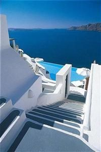 Photo Gallery for Katikies The Hotel in Santorini, Cyclades Islands - Greece Santorini Grecia, Santorini Island, Dream Vacations, Vacation Spots, Places To Travel, Places To Visit, Things To Do In Santorini, Ancient Greek Architecture, Greece Travel