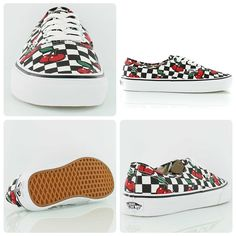 Don't be cherry-picking! Vans Authentic checkered cherry
