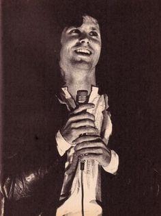 The Lizard King- rare smile