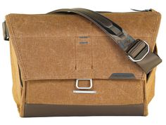 Messenger/shoulder bag for cameras and essential carry, now in 2 sizes.