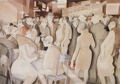 Jeanne Mammen - Berlin Street Scene ca 1929