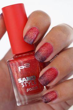 DIY Nail Art | Liquid Sand Gradient / Ombre ~ Beautyill | Beauty Blog with nail art, nail polish, makeup reviews and more!
