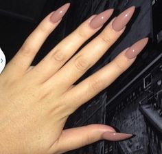 Somewhat Nude Nail