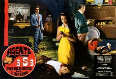 A Year of Spy Films 10/365 Agente 3S3 Passaporto per l'inferno aka Passport To Hell (1966 Italy / France / Spain) The International Spy Film Guide Score: 8/10 #isfg #spyfilmguide #georgioardisson #eurospy #jamesbond #spymovie  https://www.kisskisskillkillarchive.com